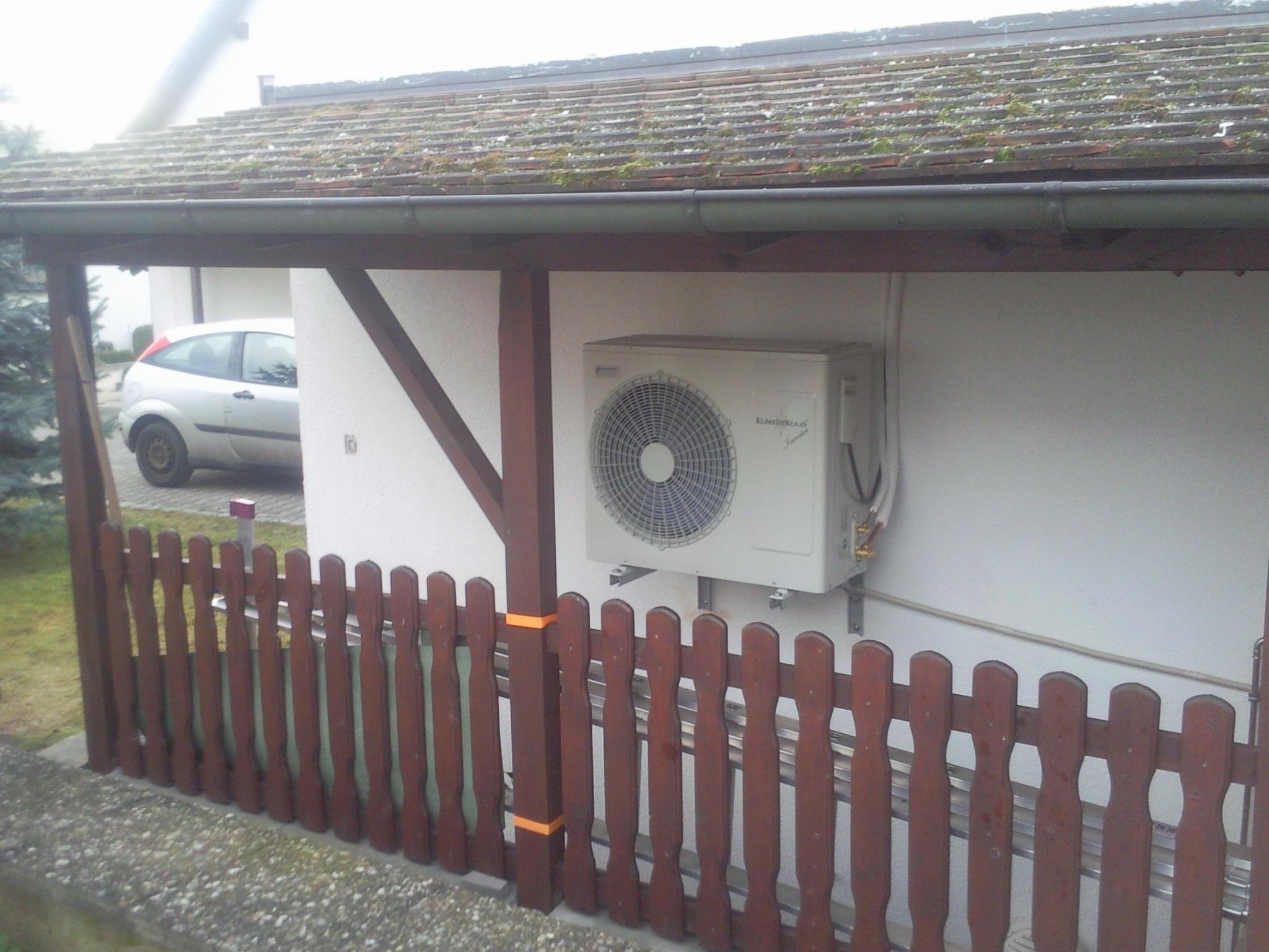 MqSol-Heizung - Kühlen mit Klima-Splitgeräten